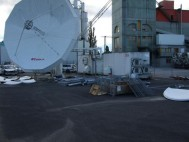 Bcom facility in Geneva equipped with a 7.6m Ku-band autotracking Antenna for tactical support