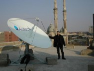 Early Bcom project with Eutelsat for EuroMed Telemdecine network in Cairo